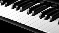 Free Piano Keys Royalty Free Stock Photo - 24666495