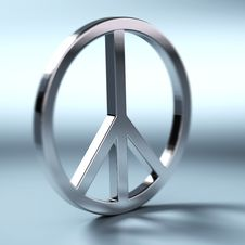 Free Peace And Love Symbol Stock Photography - 24668662