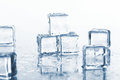 Free Wet And Cold Ice Cubes Stock Image - 24670831