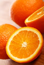 Free Fresh Oranges On Wooden Board Royalty Free Stock Photos - 24671058