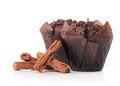 Free Chocolate Cupcake Stock Image - 24671111