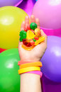 Free Hand And Candy Royalty Free Stock Image - 24673366