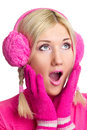 Free Woman In Pink Stock Photo - 24675770
