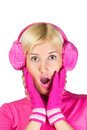 Free Woman In Pink Stock Images - 24676914