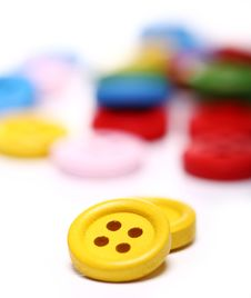 Free Many Colorful Buttons Stock Photos - 24670953