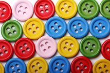 Free Many Colorful Buttons Royalty Free Stock Photography - 24670967
