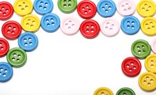 Free Many Colorful Buttons Stock Photos - 24670983