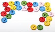 Free Many Colorful Buttons Royalty Free Stock Photography - 24670987