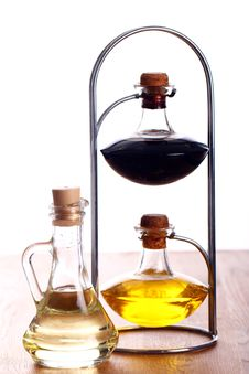 Free Bottles With Oil Stock Images - 24671054