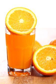 Free Fresh Orange Juice Royalty Free Stock Images - 24671069