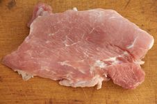 Piece Of Fresh Pork Royalty Free Stock Image