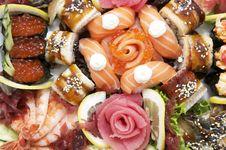 Free Sushi Stock Image - 24673621