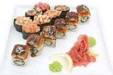 Free Sushi Royalty Free Stock Image - 24673736
