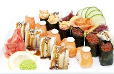 Free Japanese Sushi Royalty Free Stock Images - 24673749