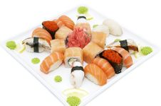 Free Japanese Sushi Royalty Free Stock Photos - 24673768