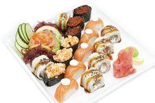 Free Sushi Royalty Free Stock Photo - 24673775