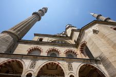 Turkey Mosque Selimiye Royalty Free Stock Photography