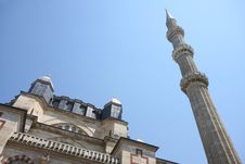 Turkey Mosque Selimiye Royalty Free Stock Photo