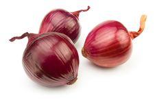 Free Three Red Onions Stock Photo - 24687980