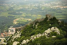 Free Castelo Dos Mouros In Sintra, &x28;Portugal&x29; Stock Photography - 24688582