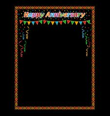 Free Happy Anniversary Frame Stock Photo - 24689220