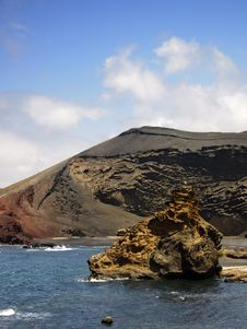 Free El Golfo Volcanic Zone &x28;Lanzarote&x29; Stock Photo - 24689330