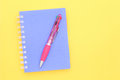 Free Note Book And Pen Royalty Free Stock Images - 24690589