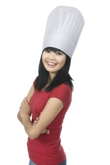 Free Young Chef Stock Images - 24691914
