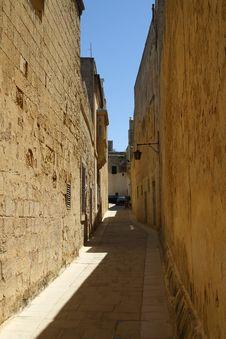 Free Mdina Street Royalty Free Stock Photo - 24692715