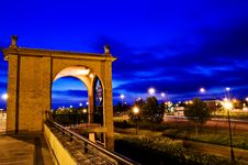 Free Arched Gateway Trafford Centre Stock Image - 24693461