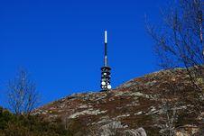 Free Tower At Ulriken Bergen Royalty Free Stock Images - 24697589
