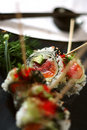 Free Skewered Sushi Dish 5 Stock Photo - 2472240