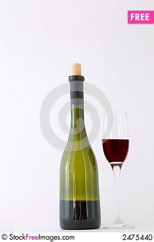 Free Red Dessert Wine Stock Photo - 2475440
