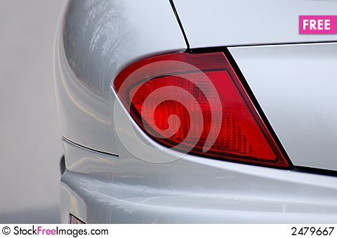 Free Tail Light Royalty Free Stock Photography - 2479667
