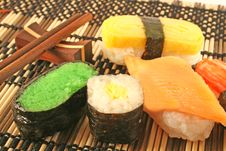 Sushi Selection Royalty Free Stock Images