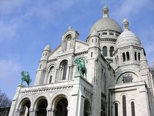 Free Sacre Coeur In Paris, France Royalty Free Stock Photos - 2471228