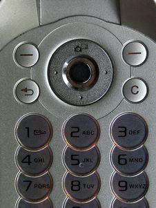 Free Mobil Phone - Keyboard Royalty Free Stock Image - 2473636