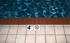 Free No Diving Stock Photography - 2473642