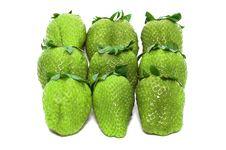 Free Green Unripe Strawberries Stock Photo - 2473680
