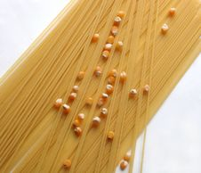 Free Spaghetti And Corn Stock Photos - 2473723