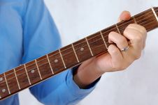 Free Detail Of Guitar Playing Stock Photo - 2474610
