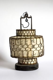 Antique Chinese Lamp Stock Images