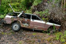Free Car Wreck Royalty Free Stock Photography - 2475047