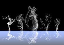 Abstract Smoke Dark Background Royalty Free Stock Photo
