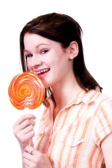 Free Giant Lollipop Royalty Free Stock Photo - 2476865
