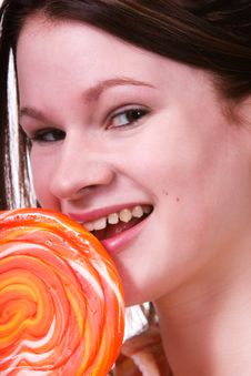 Free Giant Lollipop Stock Image - 2476881
