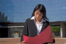 Free Businesswoman Royalty Free Stock Photo - 2477515