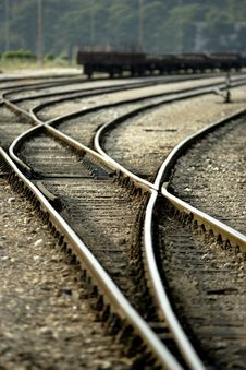 Free Railroad Stock Photo - 2478160