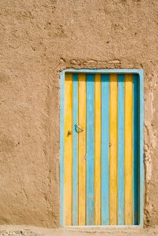 Free Colored Door In The Desert, Mo Stock Images - 2478794