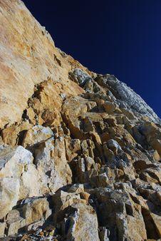 Free Beautiful Stone  And Blue Sky Stock Photos - 2478843